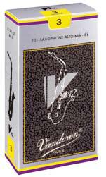 正規認証品!新規格 Vandoren バンドレン V12 10枚入り アルトサックス用リード ファクトリーアウトレット
