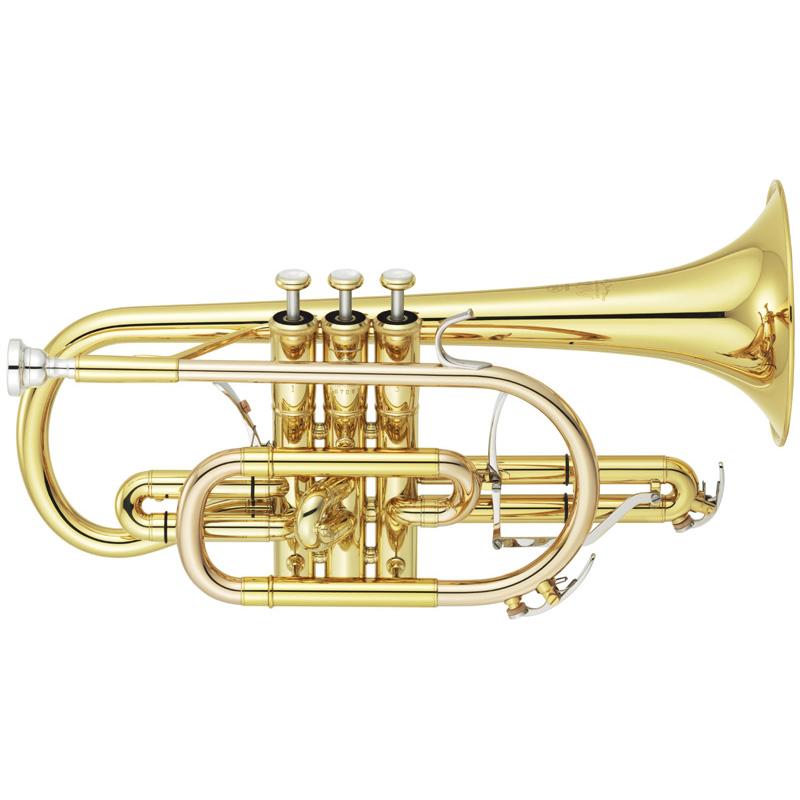 YAMAHA ヤマハ YCR-8335 (クリアラッカー仕上げ)(B♭管コルネット)(送料無料)(譜面台プレゼント)