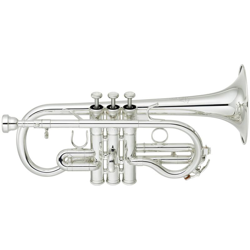 YAMAHA ヤマハ YCR-8620S (銀メッキ仕上げ)(E♭管コルネット)(送料無料)(譜面台プレゼント)