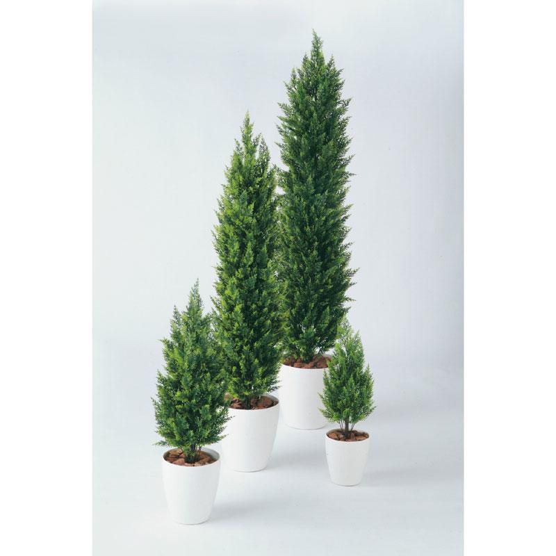 【観葉植物 造花】コニファーナチュラル 150cm 鉢植【フェイクグリーン 大型 樹木 SC/CT触媒・光触媒/インテリア/お祝い】