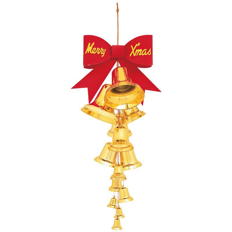 13連アソートベルハンガー(Merry Xmas) 装飾 デコレーション クリスマス Xmas[A-B]