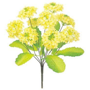 お正月 年始 評価 店内装飾 グッズ ウィンター 冬 A-B 正月 ×9 L SEAL限定商品 菜の花ブッシュ 造花