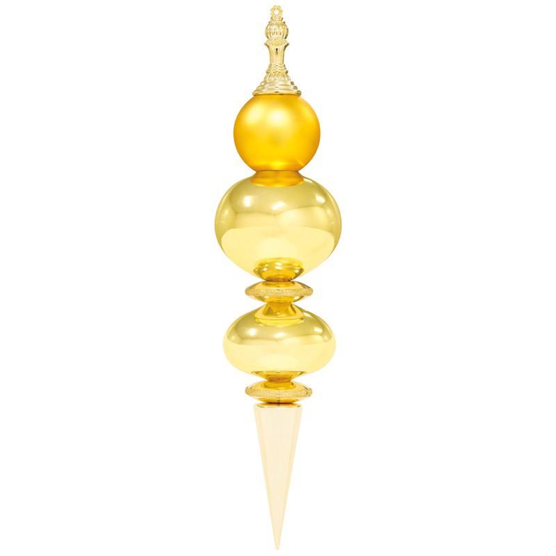 ジャイアントスピアドロップ グリッター ゴールド/ゴールド 装飾 デコレーション クリスマス Xmas[A-B]