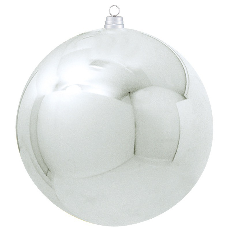 500mmメタリックボール シルバー(1ケ/パック) 装飾 デコレーション デコレーション デコレーション クリスマス Xmas[A-B] dbb