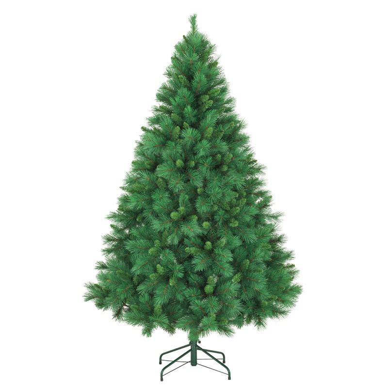 クリスマスツリー 210cmミックスニードルパインツリー(HINGE) [A-B]