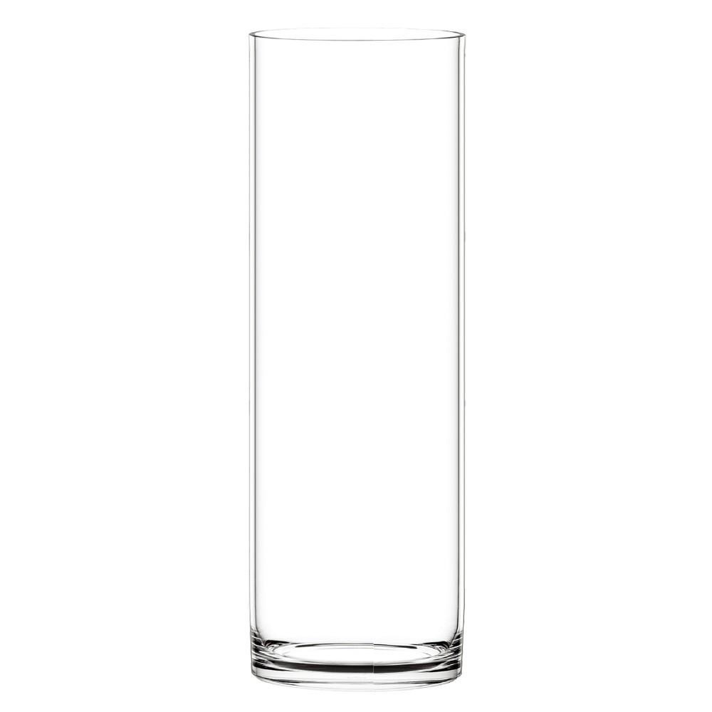ポリカーボネート 花器 花瓶 PVシリンダー H80 φ25×H80cm 容器 プラスチック 透明 割れにくい ガラスのような 安全 耐衝撃 丈夫