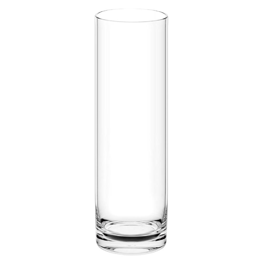 ポリカーボネート 花器 花瓶 PVシリンダー H60 φ17.5×H60cm 容器 プラスチック 透明 割れにくい ガラスのような 安全 耐衝撃 丈夫
