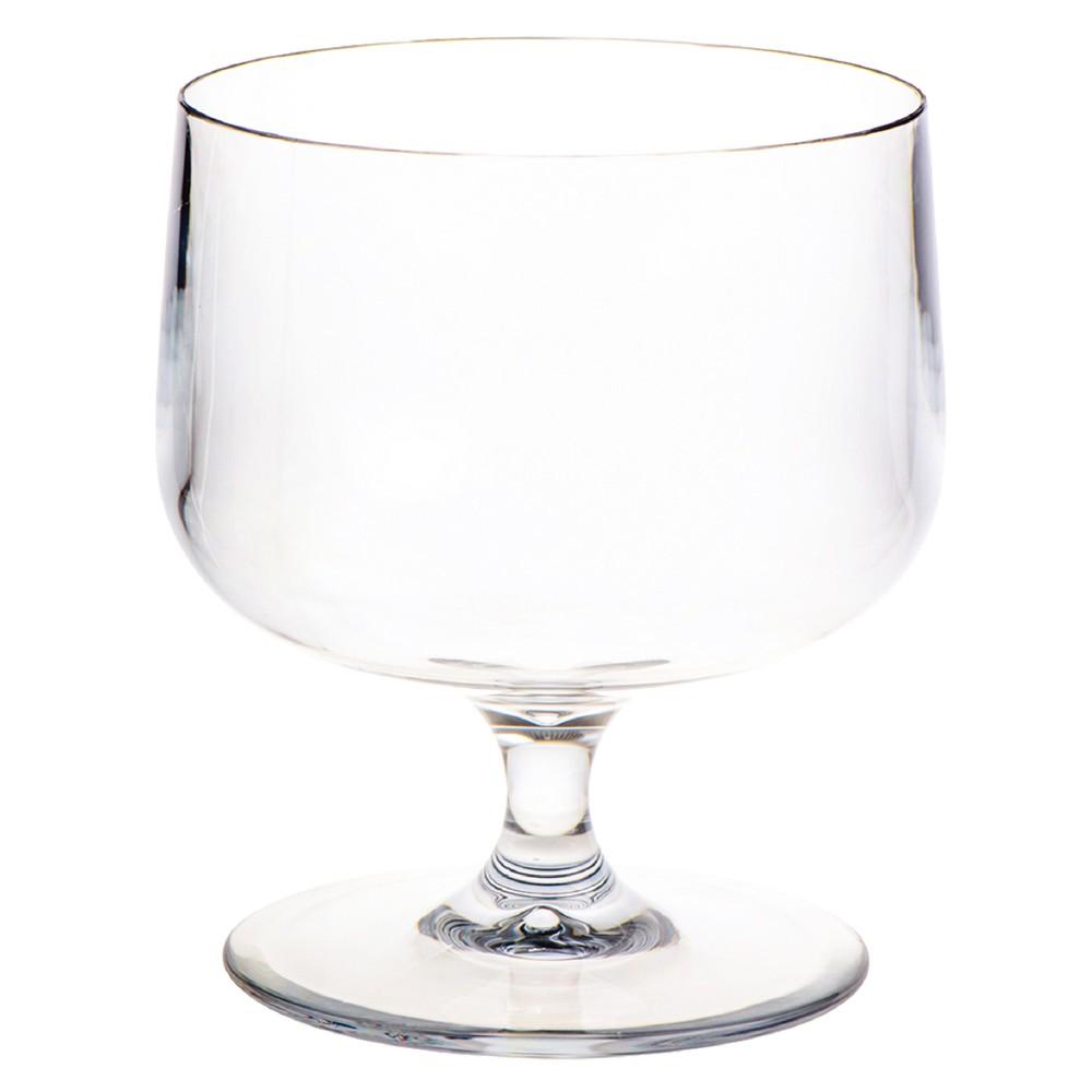 ポリカーボネート 花器 花瓶 PVビッグゴブレット φ28×H42cm プラスチック 透明 割れにくい ガラスのような 安全 耐衝撃 丈夫