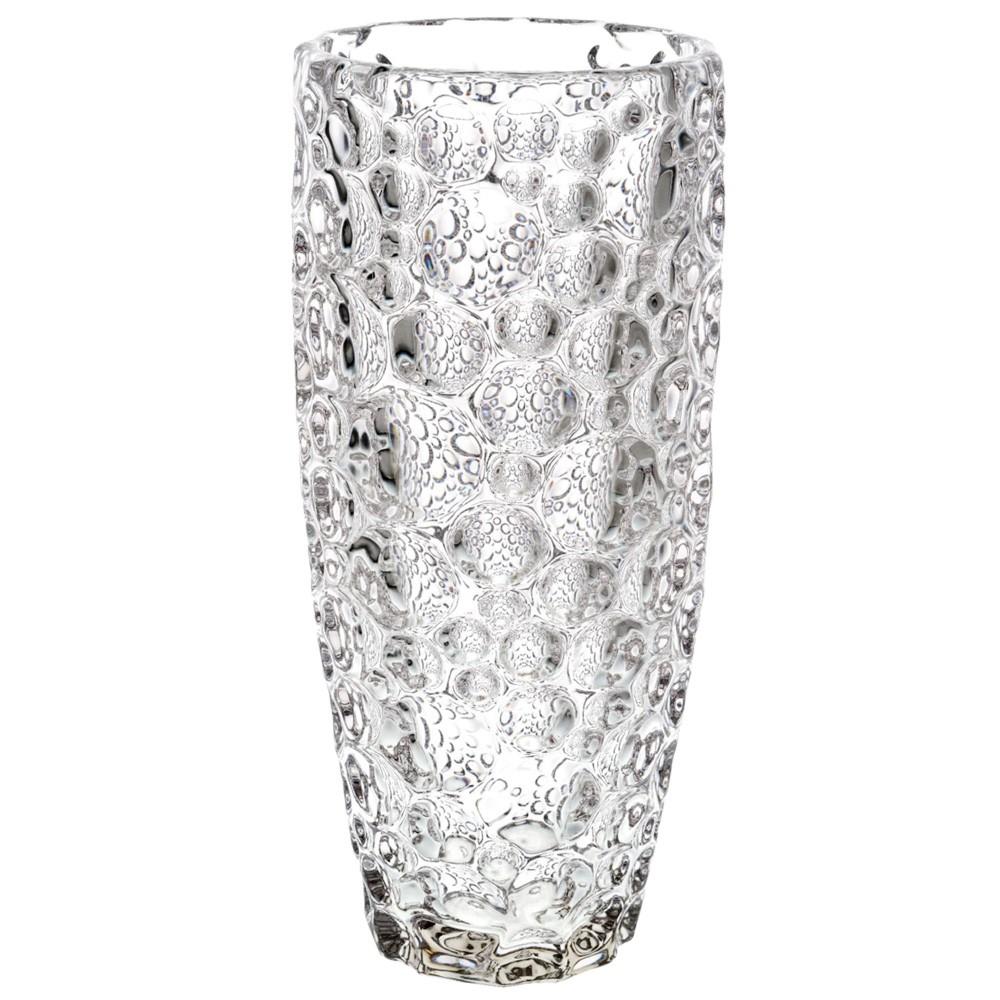 ポリカーボネート 花器 花瓶 PVクリスタヘインフィニティ φ15.5×H35cm プラスチック 透明 割れにくい ガラスのような 安全 耐衝撃 丈夫