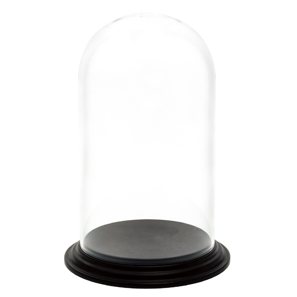 ポリカーボネート 花器 PVディスプレイカバーセット φ30×H50cm 蓋 フタ カバー お盆 プラスチック 耐衝撃 透明 割れにくい ガラスのような