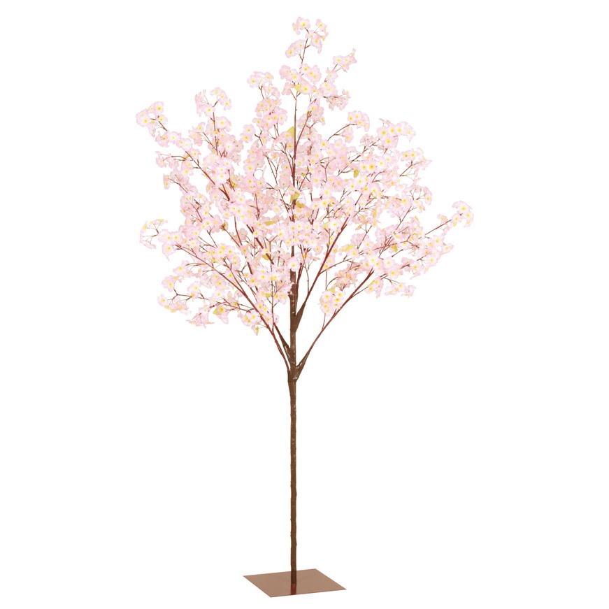 210cm桜ツリースタンド 造花 花材[G-L]