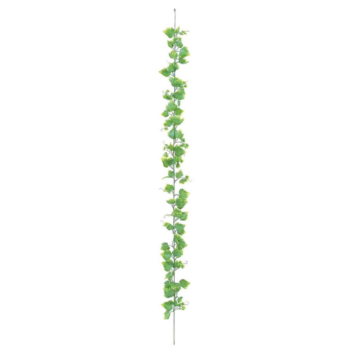 初回限定 オフィス 消臭 抗菌 おすすめ おしゃれ 癒しのグリーンでいつでも空気すっきり 観葉植物 造花 屋外対応 ツートングリーン G-L 175cm 人工観葉植物 光触媒 インテリア フジグレープガーランド フェイクグリーン CT触媒 受賞店