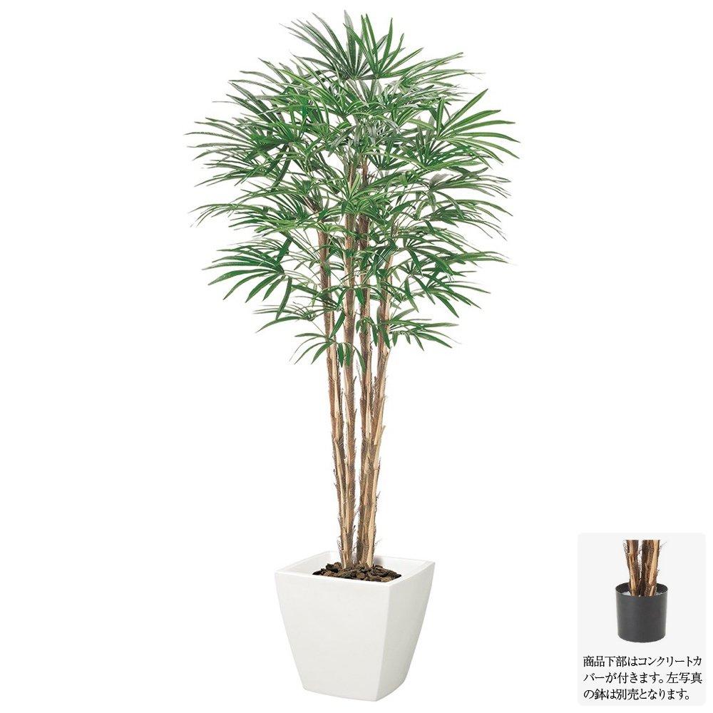 【フェイクグリーン 大型】シュロチク ナチュラルトランク 170cm 【人工観葉植物 観葉植物 造花 光触媒 CT触媒 インテリア】