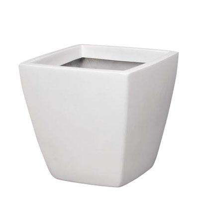 アーバンポット(AS-43型)(ホワイト)【観葉植物 造花 フェイクグリーン 鉢 ポット】[G-L]