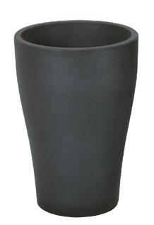 35cmテュラムポット(ブラック)【観葉植物 造花 フェイクグリーン 鉢 ポット】[G-L]