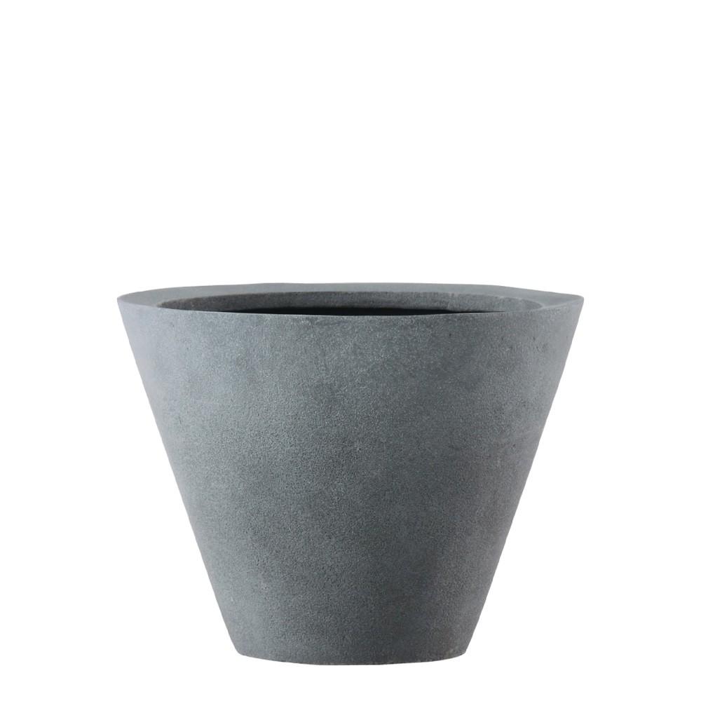 【樹木への取付費込】 LLシンプルコーン深型 40×H32 11.5号 FRP 丸鉢 植木鉢 ポット