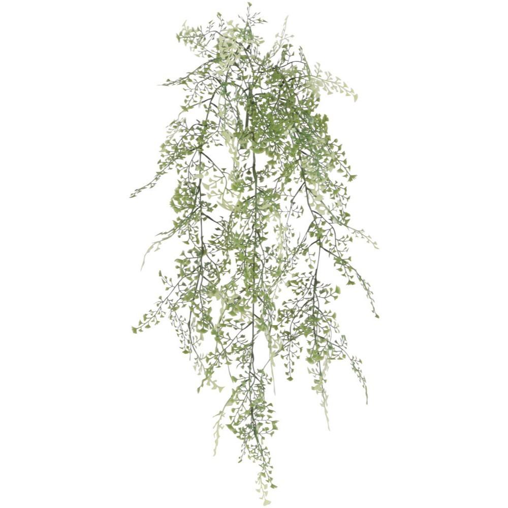 オフィス 消臭 抗菌 テレビで話題 おすすめ おしゃれ 癒しのグリーンでいつでも空気すっきり 人工観葉植物 屋外対応 メイデンヘアー 85cm バイン つた CT触媒 つる フェイクグリーン 現金特価 観葉植物 蔓 造花 蔦 光触媒 インテリア