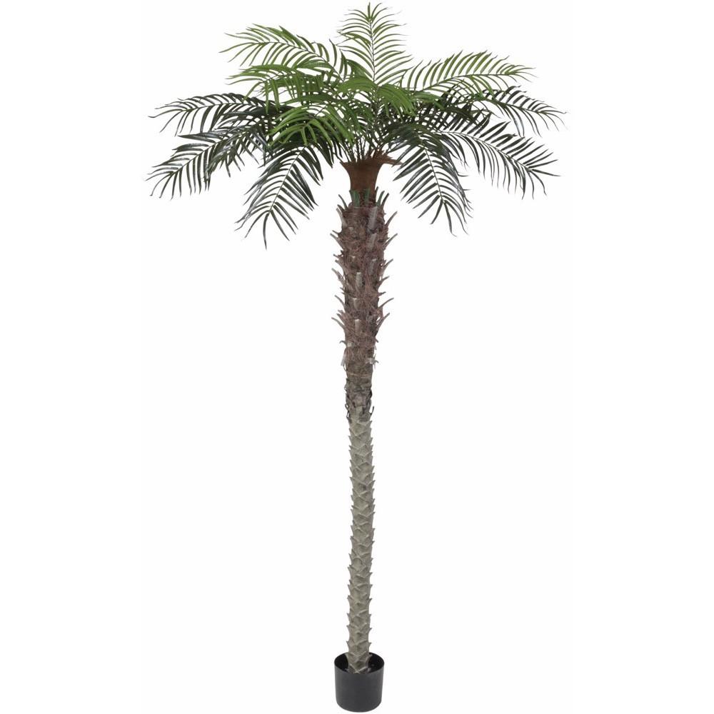 【人工観葉植物 大型】フェニックスパーム 240cm 樹木 【フェイクグリーン 観葉植物 造花 光触媒 CT触媒 インテリア】