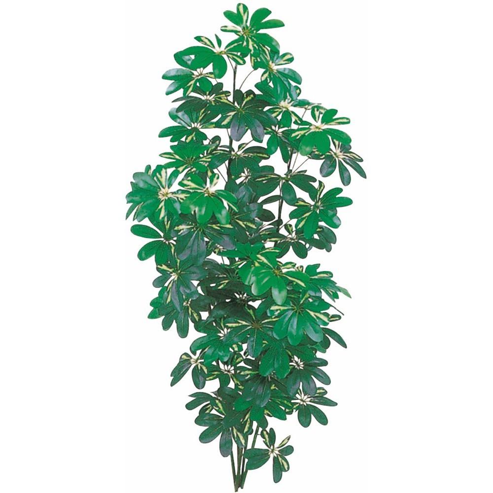 【フェイクグリーン 大型】シェフレラ(フイリ) 180cm カポック 樹木 【観葉植物 造花 人工観葉植物 光触媒 CT触媒 インテリア】