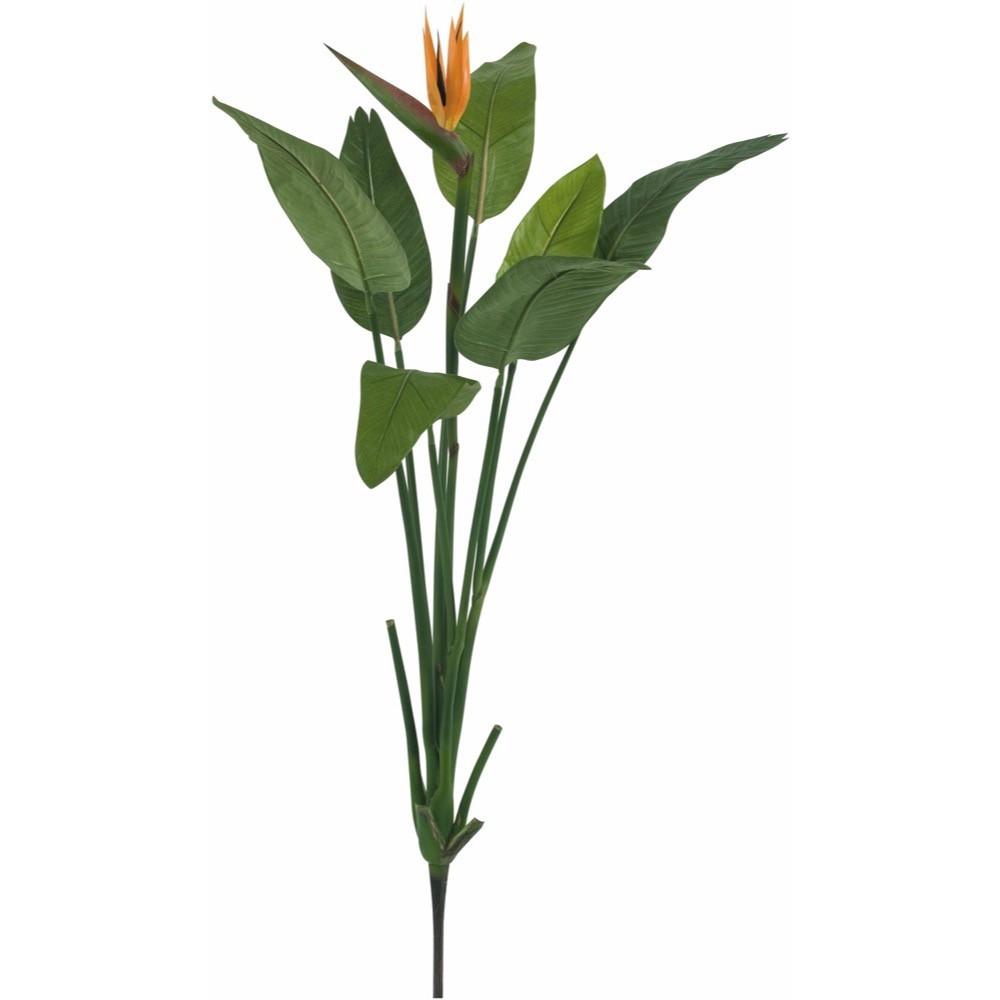 【観葉植物 造花】ストレチア 137cm ストレリチア 樹木 【フェイクグリーン 大型 人工観葉植物 光触媒 CT触媒 インテリア】