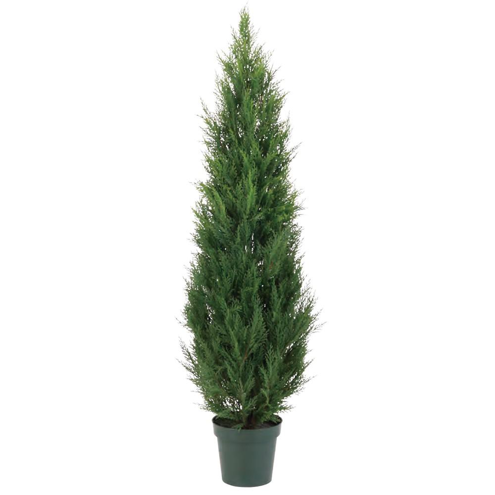 【フェイクグリーン】屋外対応 グリーンクレスト 120cm 樹木 【人工観葉植物 大型 観葉植物 造花 光触媒 CT触媒 インテリア】