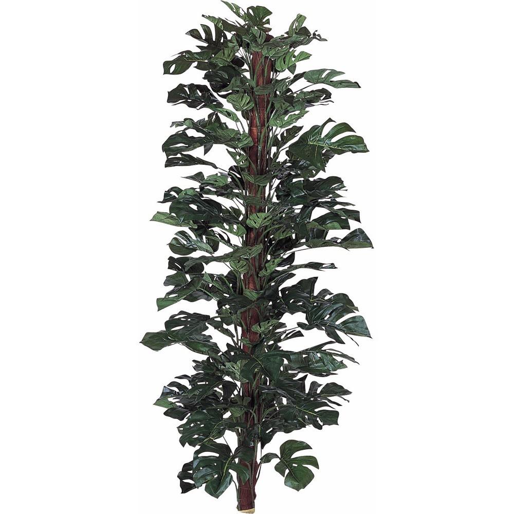 【観葉植物 造花 大型】スプリットフィロヘゴ 170cm 樹木 【フェイクグリーン 人工観葉植物 光触媒 CT触媒 インテリア】
