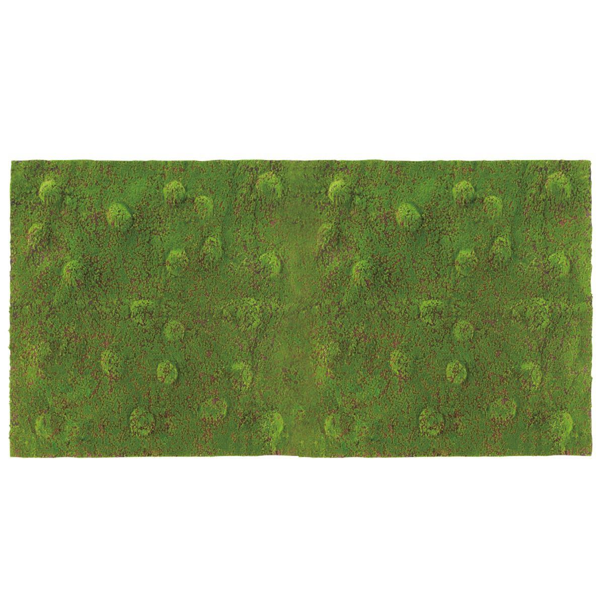 人工観葉植物 フェイクグリーン 観葉植物 造花 モスマット フラット 土付き 200×100cm インテリア おしゃれ フェイク グリーン CT触媒 消臭 抗菌