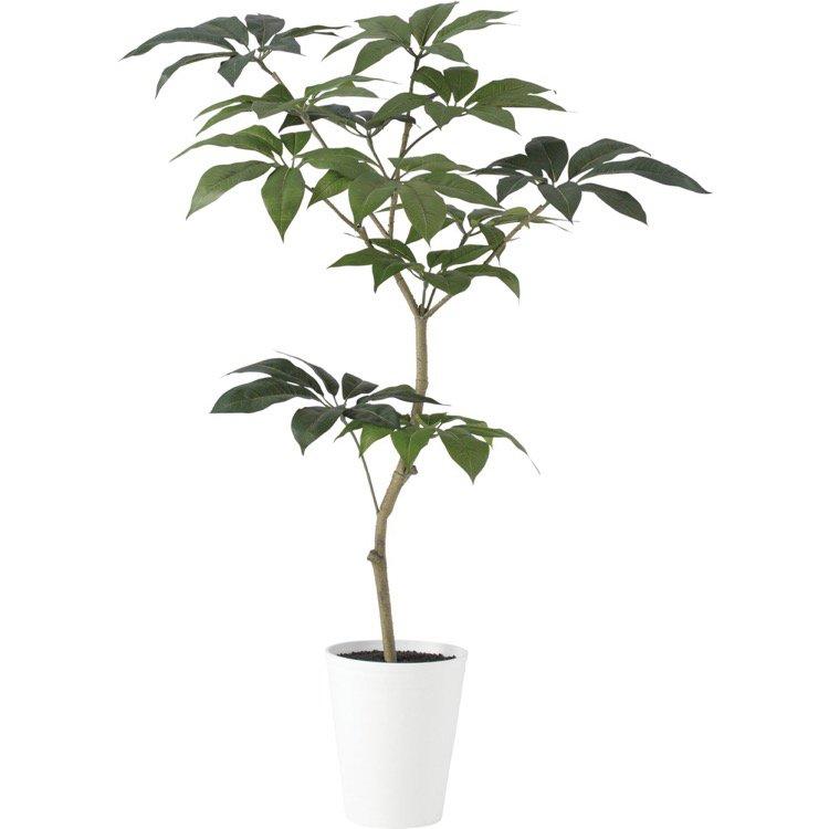 【観葉植物 造花】 ツピダンサス FST 150cm 鉢植 【人工観葉植物 大型 フェイクグリーン 光触媒 CT触媒 インテリア】