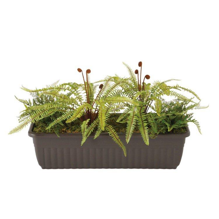 【人工観葉植物】 プラントボックス 40cm 【観葉植物 造花 フェイクグリーン 光触媒 CT触媒 インテリア】