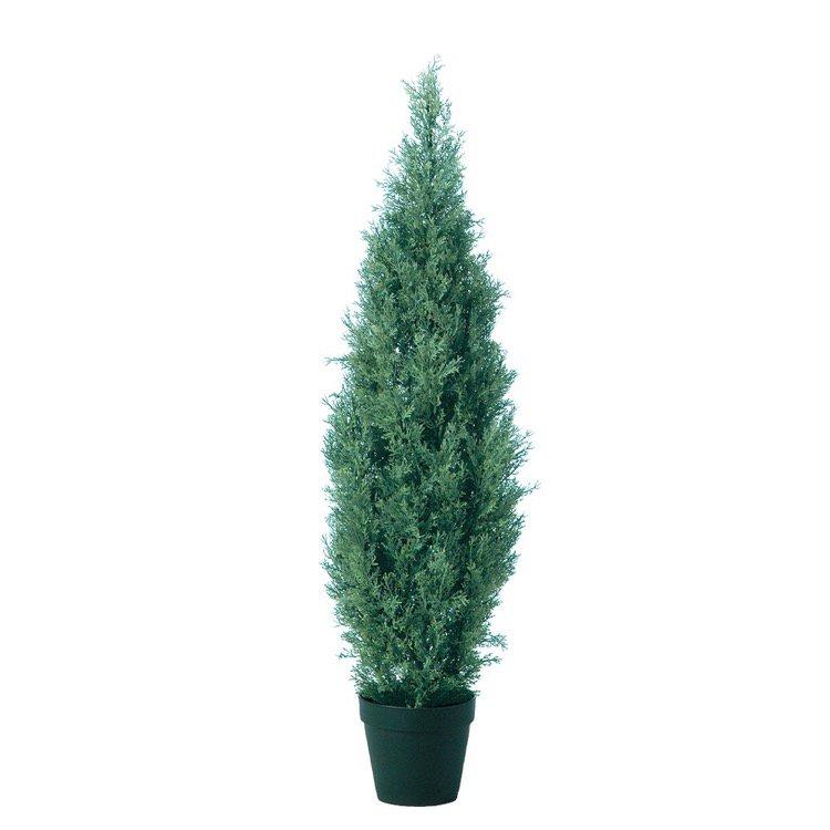 【人工観葉植物】 ブルーエンジェル 125cm 鉢植 【観葉植物 造花 大型 フェイクグリーン 光触媒 CT触媒 インテリア】
