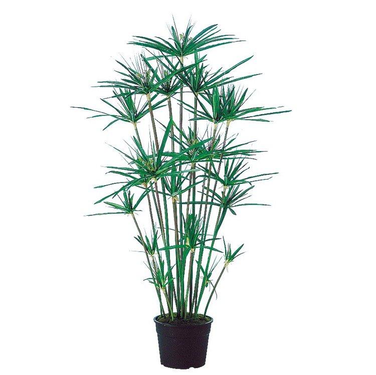【フェイクグリーン】 シペラス鉢 100cm 鉢植 【観葉植物 造花 大型 人工観葉植物 光触媒 CT触媒 インテリア】