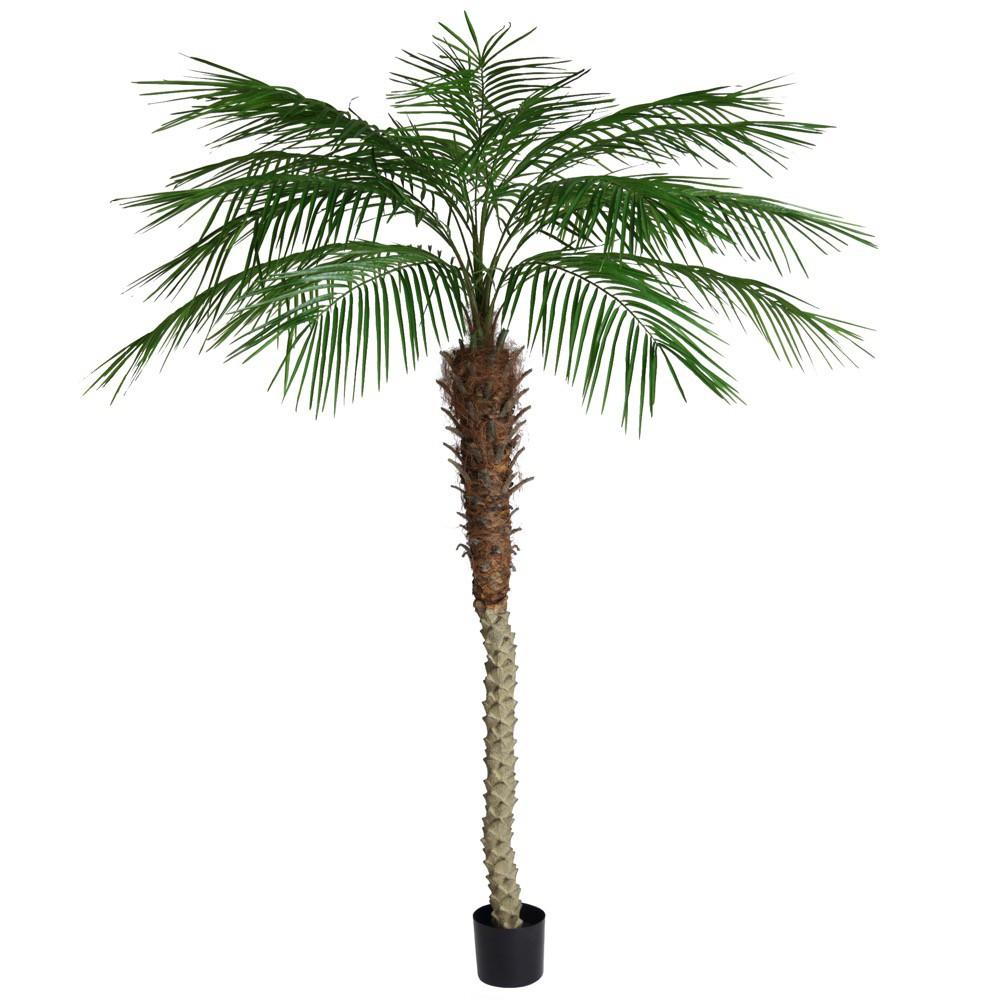 人工観葉植物 フェイクグリーン 観葉植物 造花 光触媒 大型 フェニックスパームツリー 210cm フェイク グリーン インテリア おしゃれ CT触媒 お祝い