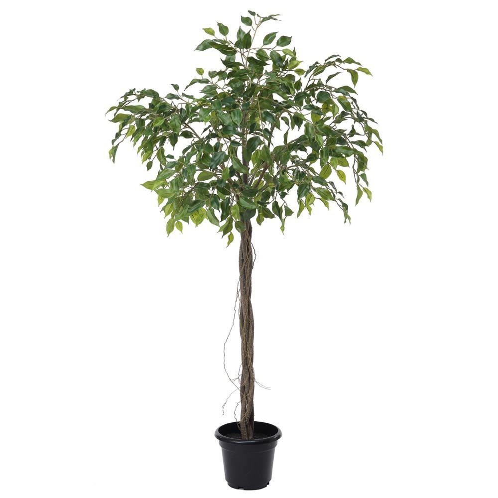 人工観葉植物 フェイクグリーン 観葉植物 造花 光触媒 大型 ファイカスツリー 115cm フィカス フェイク グリーン インテリア おしゃれ CT触媒 お祝い