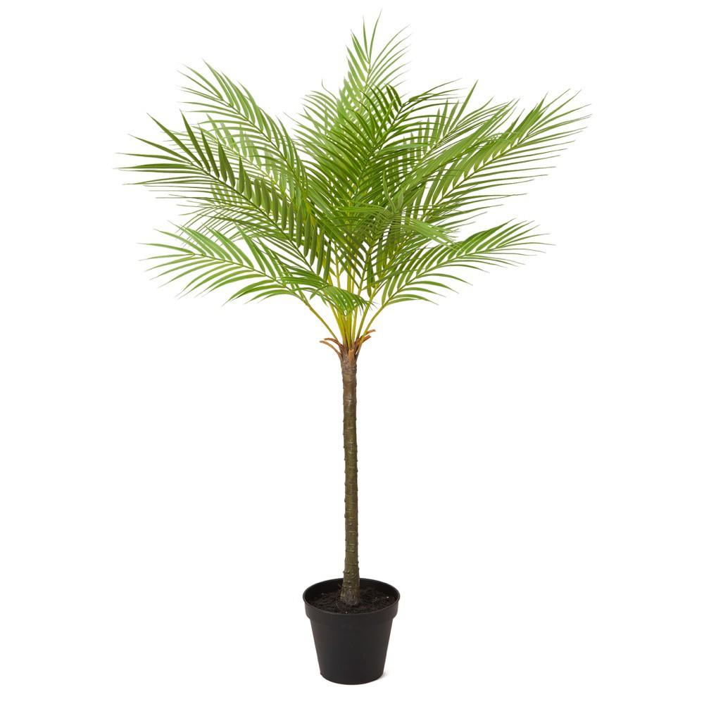 人工観葉植物 フェイクグリーン 観葉植物 造花 光触媒 大型 フェニックスパームポット 110cm フェイク グリーン インテリア おしゃれ CT触媒 お祝い