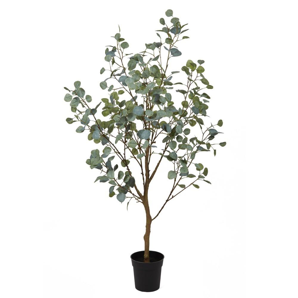人工観葉植物 フェイクグリーン 観葉植物 造花 光触媒 大型 丸葉ユーカリポット 150cm フェイク グリーン インテリア おしゃれ CT触媒 お祝い