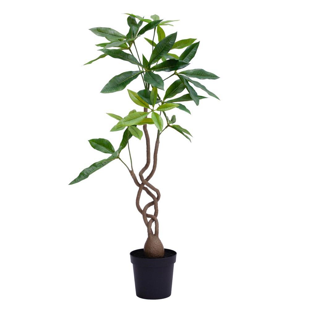 人工観葉植物 フェイクグリーン 観葉植物 造花 光触媒 ツイストパキラポット 90cm フェイク グリーン インテリア おしゃれ CT触媒 お祝い