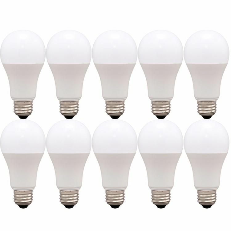 税込3980円以上で送料無料 10個セット LED電球 E26 広配光 60形相当 調光 AIスピーカー LDA9L-G D-86AITG 送料無料 電球 GoogleHome 省エネ 節電 スマートスピーカー対応 ECO 美品 LEDライト 節約 AmazonEcho アイリスオーヤマ LED 国際ブランド エコ