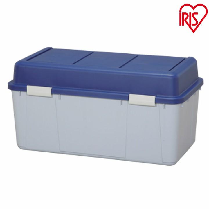 【送料無料】[5個セット]ワイドストッカーAZ-860ブルー/グレー[ポリタンク入れ ポリタンク収納 屋外収納 物置収納 収納用品 収納ボックス 深型 ベランダ物置 ベランダ収納][03ss]