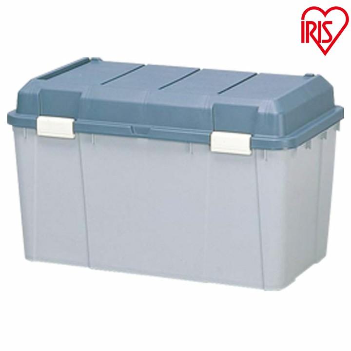【送料無料】[5個セット]ワイドストッカー  WY-780グリーン/グレー[ポリタンク入れ ポリタンク収納 屋外収納 物置収納 収納用品 収納ボックス 深型 ベランダ物置 ベランダ収納] あす楽対応