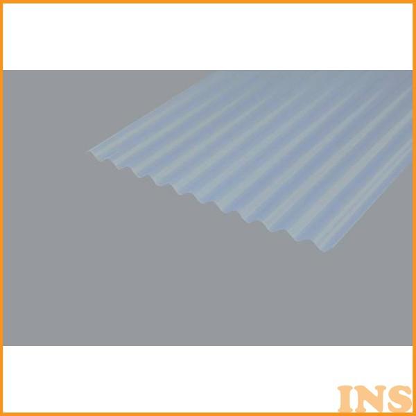 NIPVC-608 [屋根材 壁材 板壁材 軽量 波型 板 硬質 塩化 DIY 補強 資材 車庫 台風対策] ※時間指定・同梱不可※ 波板 【時間指定不可】 【お得な10枚セット】 【アイリスオーヤマ】 ナチュラル・ナチュラルブルー・乳白・クリア・ブロンズ