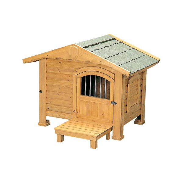 【送料無料】【犬小屋・大型犬】 ロッジ犬舎 RK-950 ブラウン