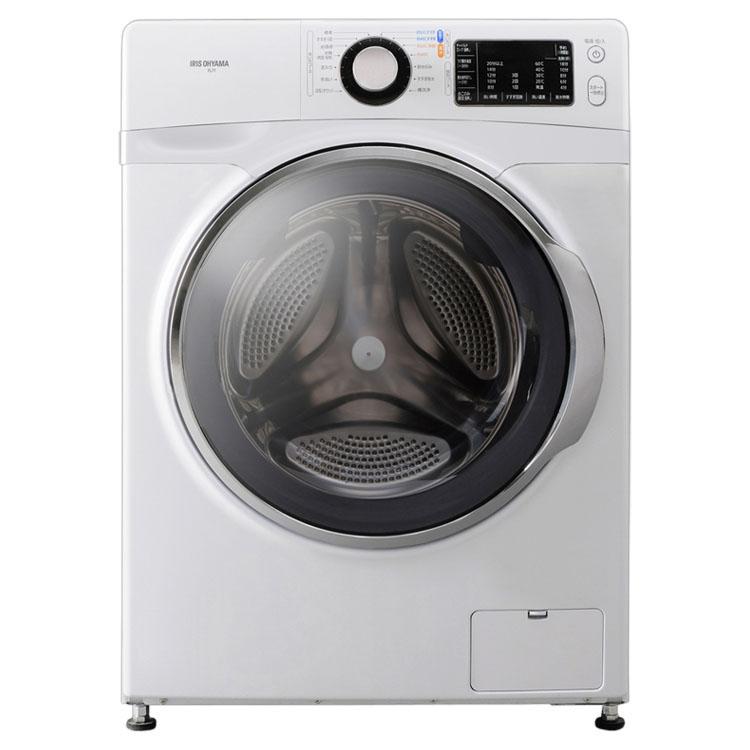 洗濯機 ドラム式洗濯機 7.5kg ホワイト/ホワイト FL71-W/W    洗濯機 ドラム式 全自動 なるほど家電 家電 生活家電 白物家電 部屋干し タイマー アイリスオーヤマ