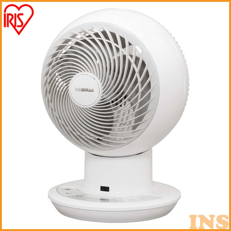 サーキュレーター サーキュレーターアイ 扇風機 送風機 首振り 18cm DC JET ホワイト PCF-SDC18T サーキュレーター ボール型 冷房 送風 静音 省エネ 首ふり 空気循環 部屋干し涼しい 風 暖房 循環 コンパクト リモコン 上下 左右 自動首振り