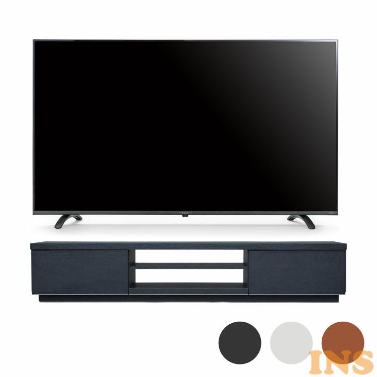 4Kテレビ 55型 音声操作 テレビ台BAB150 送料無料 テレビ テレビ台 セット TV 4K 音声操作 55型 黒 引き出し アイリスオーヤマ