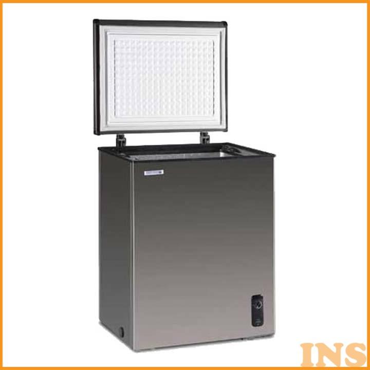 ステンレス冷凍庫 100L JH100CR 送料無料 冷凍庫 冷凍ストッカー フリーザー 小型 ノーフロスト 【TD】 【代引不可】