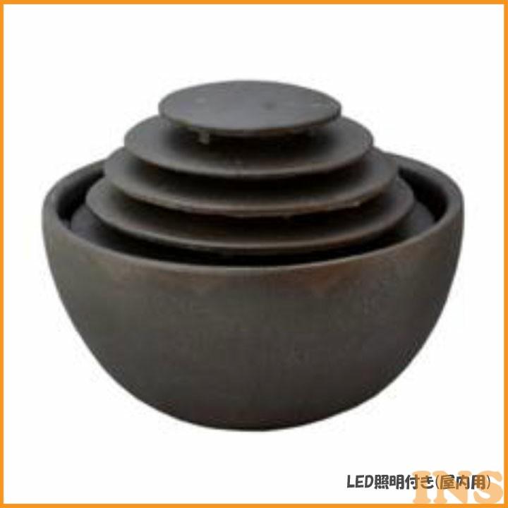 インテリアLED琴音ボール(屋内用) いぶし銀 EW210 送料無料 自然音 すいきんくつ 和風 リラックス 癒し SAN-EI 【D】