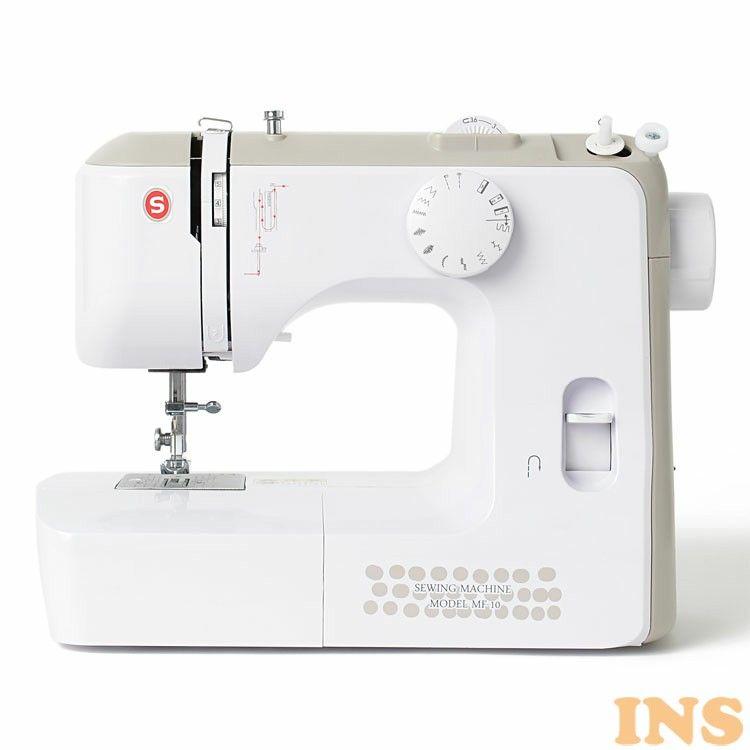 電動ミシン 全商品オープニング価格 コンパクト 小型 シンガー 白 MF-10 訳ありセール 格安 送料無料 D B