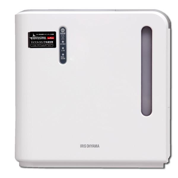 ≪送料無料≫アイリスオーヤマ 気化ハイブリッド式加湿器(イオン有)EHH-500Z-Sシルバー[乾燥対策 加湿 空気 乾く 潤す 部屋 寝室 水分]