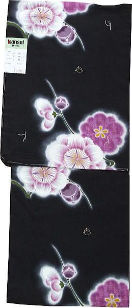 ■【仕立て上がりゆかた】Kansai(山本寛斎)(3-10)■ブランド仕立て上がり浴衣・ワンランク上の上質仕立て上がりゆかたで花火大会やお祭りへ行こう!