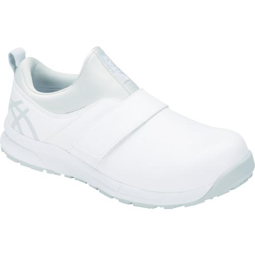 アシックス ウィンジョブCP303 ホワイト/グレイシャーグレー 23.0cm 1271A004.10023.0